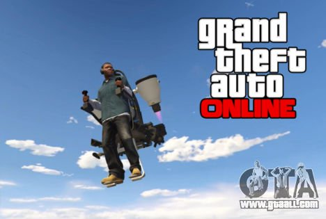 Jetpack in GTA 5